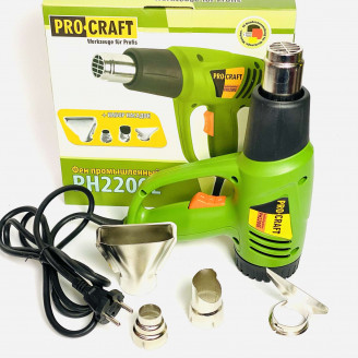 Фен промышленный Procraft PH2200E