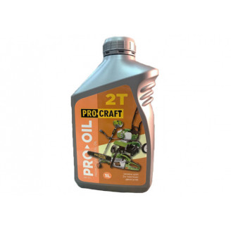 Масло для двухтактных двигателей PROCRAFT 2Т 1л
